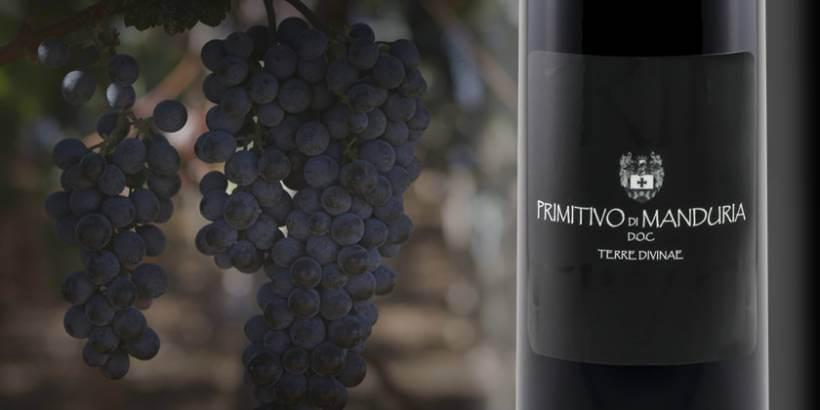 Vino rosso Primitivo di Manduria
